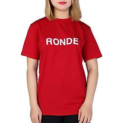 Áo Thun Nữ Ronde T&D D220 - Đỏ Đô (Freesize)
