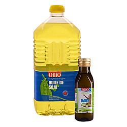 Combo Dầu Đậu Nành Oilio (2 lít) + Dầu Olive Baby Oilio (250ml)