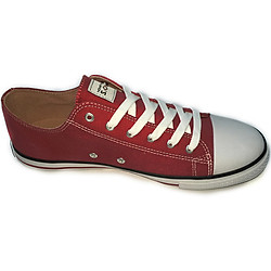 Giày Sneaker Nữ Cổ Thấp Codad Canvas Karo's - Đỏ Đậm