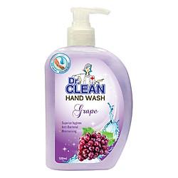 Sữa Rửa Tay Dr. Clean - Nho (500ml)