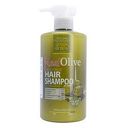 Dầu Gội Siêu Mượt Tinh Chất Olive Green Grapy Real Olive Velvet Dress Hair Shampoo (500g)