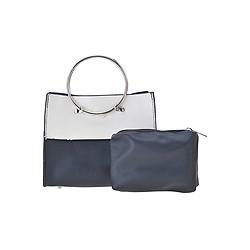 Bộ Túi Và Ví Cầm Tay Phối Màu W & B Botusi 36 (22 x 12 cm) - Đen