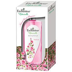 Hộp Quà Sữa Tắm Enchanteur Naturalle Hương Hoa Hồng 650g - 6010247