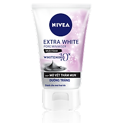 Sữa Rửa Mặt Nữ Khoáng Chất Trắng Da Nivea 100g - 81273