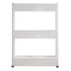 Kệ Để Đồ 3 Tầng Có Bánh Xe Storage Shelves G000104