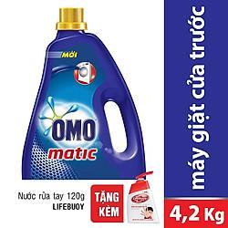 Nước Giặt  OMO Cho Máy Giặt Cửa Trước (4.2kg) - 21122578