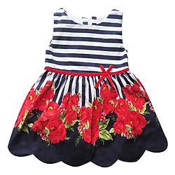 Đầm Xòe Bé Gái Chân Hoa Cuckeo HC 501 – Xanh Đen