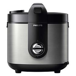 Nồi Cơm Điện Philips HD3128 - 2L (Màu Bạc)