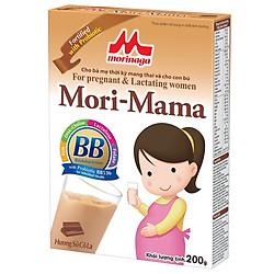 Thực Phẩm Tăng Cường Vi Chất Dinh Dưỡng  Mori Mama Hương Sôcôla (200g)