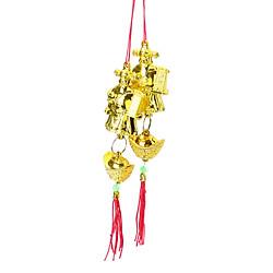 Dây Trang Trí Tết - Thần Tài Vàng Size Nhỏ (2 Dây)