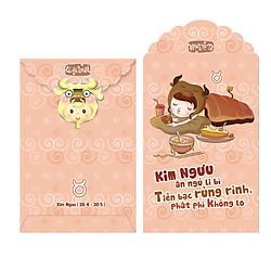Bao Lì Xì Phan Thị Cung Hoàng Đạo - Kim Ngưu - M309 (Lốc 2)