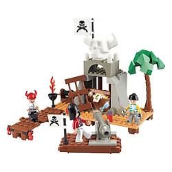 Đồ Chơi Lắp Ráp Sluban - Pirate - Bảo Vệ Lãnh Thổ M38-B0278 (142 Mảnh Ghép)