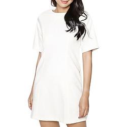 Đầm Flared Sleeves Dress MINTBasic MBD11402WH - Trắng