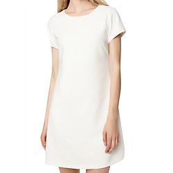 Đầm A-Line Dress With Back MINTBasic MBD21425WH - Trắng