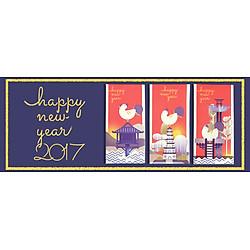 Bao Lì Xì K.I.S.S Happy New Year (Lốc 9)