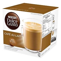 Hộp 16 Viên Nén Cà Phê Sữa Nescafe Dolce Gusto - Café Au Lait 160g