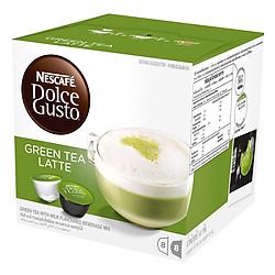 Hộp 16 Viên Nén Trà Xanh Sữa Nescafe Dolce Gusto - Green Tea Latte 160g