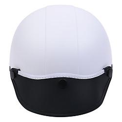 Mũ Bảo Hiểm 1/2 Đầu Napoli NS-N088-WHITE - Trắng (Size L)