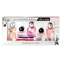 Bộ 5 Chai Nước Hoa Collection Fashion Charrier Parfums P5