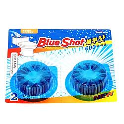 Viên Tẩy Vệ Sinh Bồn Cầu Cao Cấp Hàn Quốc BlueShot (2 Viên x 40g/Viên)