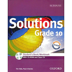 Solutions Grade 10 - Student's Book/Workbook (With CD - Rom And Class CD)