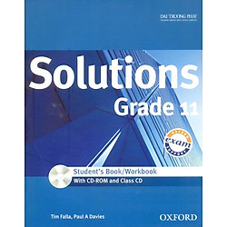 Solutions Grade 11 - Student's Book/Workbook (With CD - Rom And Class CD)