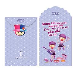 Bao Lì Xì Phan Thị Cung Hoàng Đạo - Song Tử - M318 (Lốc 2)