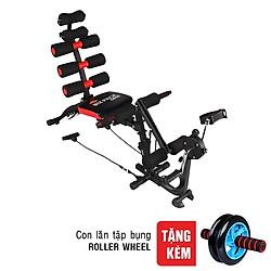 Máy Tập Bụng New Six Pack Care SPCRW + Con Lăn Tập Bụng Roller Wheel