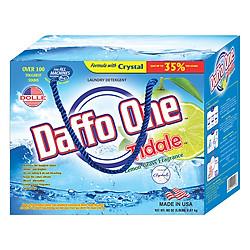 Bột Giặt Daffo One Tidale Hương Cỏ Chanh (2.27kg)