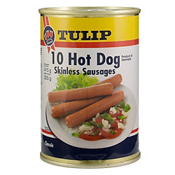Xúc Xích Tulip Hot Dog Skinless 415g