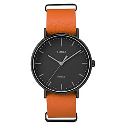 Đồng Hồ Unisex Dây Da Timex Weekender Fairfield TW2P91400