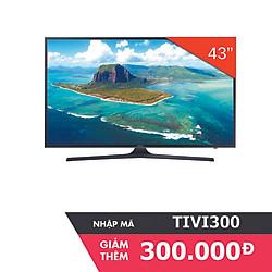Smart Tivi 4K Samsung 43 inch UA43KU6000