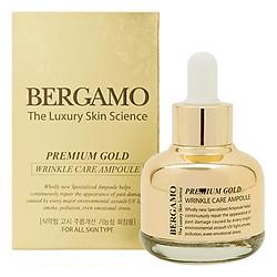 Tinh Chất Chống Lão Hóa Căng Mịn Da Bergamo Premium Gold Wrinkle Care Ampoule TCCLHCMD (30ml)
