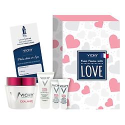 Hộp Sản Phẩm Dưỡng Trắng Vichy Love Box - VNN0003-Ideal White Magic Bundle - 100848696 (Tặng 01 Voucher Spa Vichy trị giá 650k)