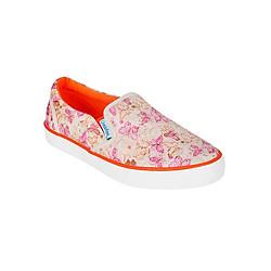 Giày Lười Canvas Nữ QuickFree Lightly W150301-008 - Cam