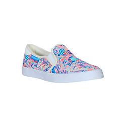 Giày Lười Slip On Vải Nữ QuickFree Lightly W160503-001 - In Bông