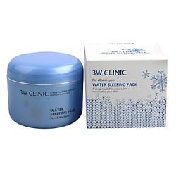 Gel Dưỡng Ẩm Căng Da Chiết Xuất Hyaluronic Acid 3W Clinic Water Sleeping Pack GDACDCXH (100ml)