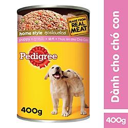 Đồ Ăn Cho Chó Con Pedigree Puppy Lon 400g