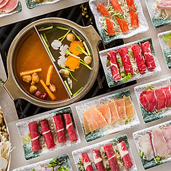Buffet Lẩu Buổi Trưa Bò Mỹ, Hải Sản, Nấm Không Giới Hạn Tại Nhà Hàng Hoàng Yến Sang Trọng