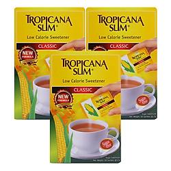 Combo 3 Hộp Đường Bắp Ăn Kiêng Sucralose Tropicana Slim (100g / Hộp)