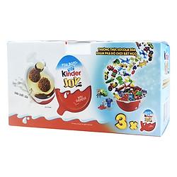 Hộp 3 Kẹo Socola Kinder Cho Bé Trai (20g / Trứng)