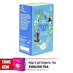 Trà Organic Sleepy Me English Tea Shop (20 Túi)   - Tặng hộp 05 gói English Tea Shop Organic