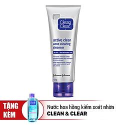 Sữa Rửa Mặt Ngừa Mụn Clean & Clear (100g)