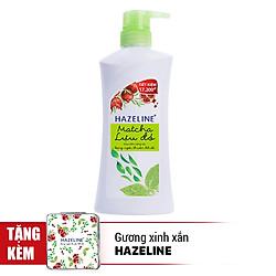 Sữa Tắm Dưỡng Sáng Da Hazeline Matcha Lựu Đỏ 67146067 (700g)