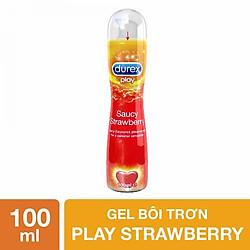 Gel Bôi Trơn Durex Play Strawberry (100ml)