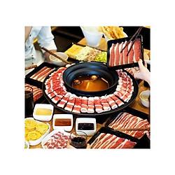 Buffet Lẩu trên đĩa bay khổng lồ áp dụng tại chuỗi nhà hàng Food House