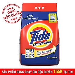 Bột Giặt Tide Trắng Sạch Chuyên Dụng (6kg)