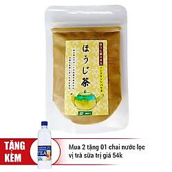 Bột Trà Rang Sato Hojicha Nhật Bản Uống Liền Không Đường (50g)