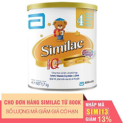 Sữa Bột Abbott Similac Eye-Q4 (1.7kg)