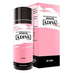 Thực Phẩm Chức Năng Bảo Vệ Sức Khỏe Viên Nang White Adiva (60 Viên /Hộp)